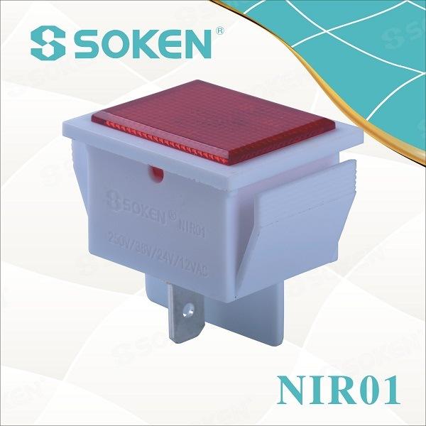 250V 125V 12V 24V 36V LED Equipment Indicator Light