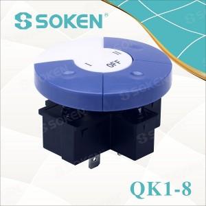 Soken Qk1-8 4 Position Ectrical Key Switch
