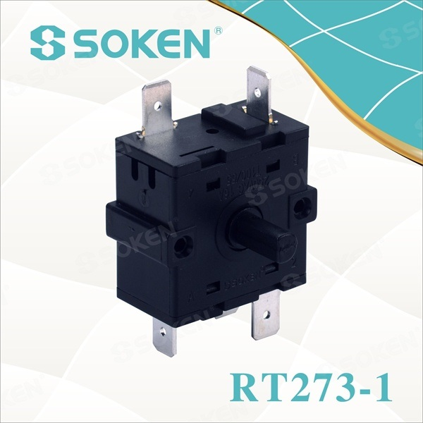 8 Position Rotary Switch with 45 Degree/Each (RT273-1)