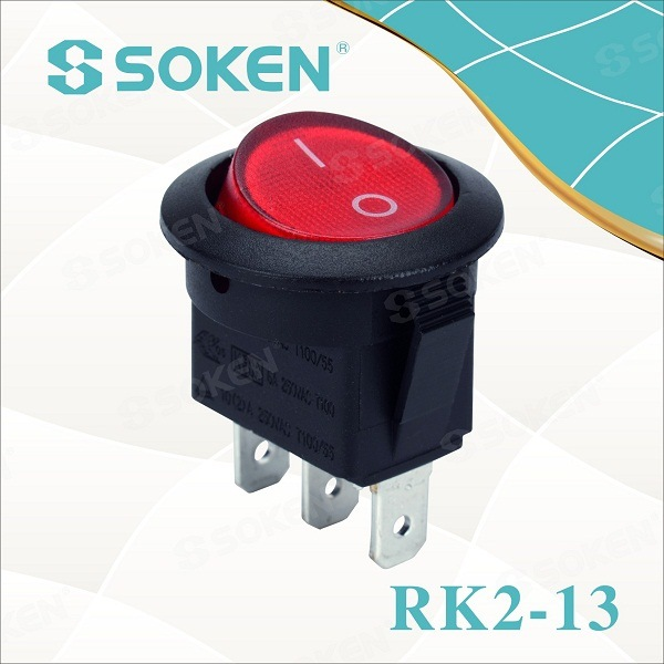 Electrical coireachan Switch / Defond Mini Rocker Switch Leubailean T105
