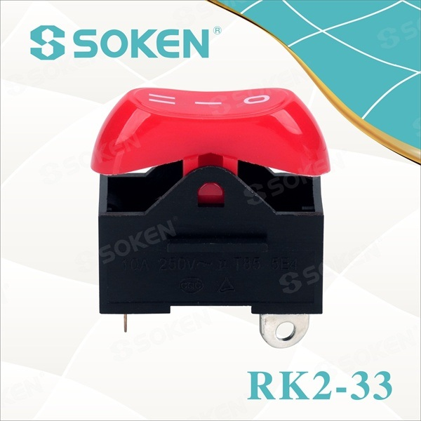 Hair Dryer Rocker Switch