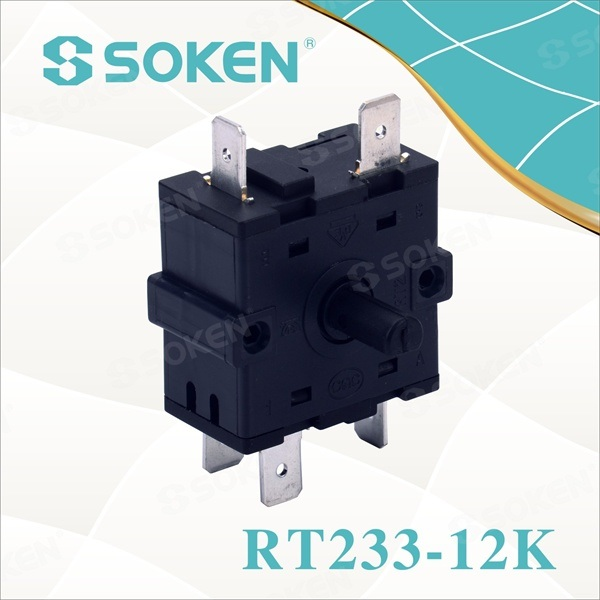 Najlon Rotary Switch sa 7 položaja (RT233-12K)