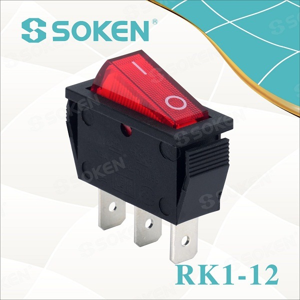 Rocker Switch 250VAC 16A Electric Switch UL TUV VDE