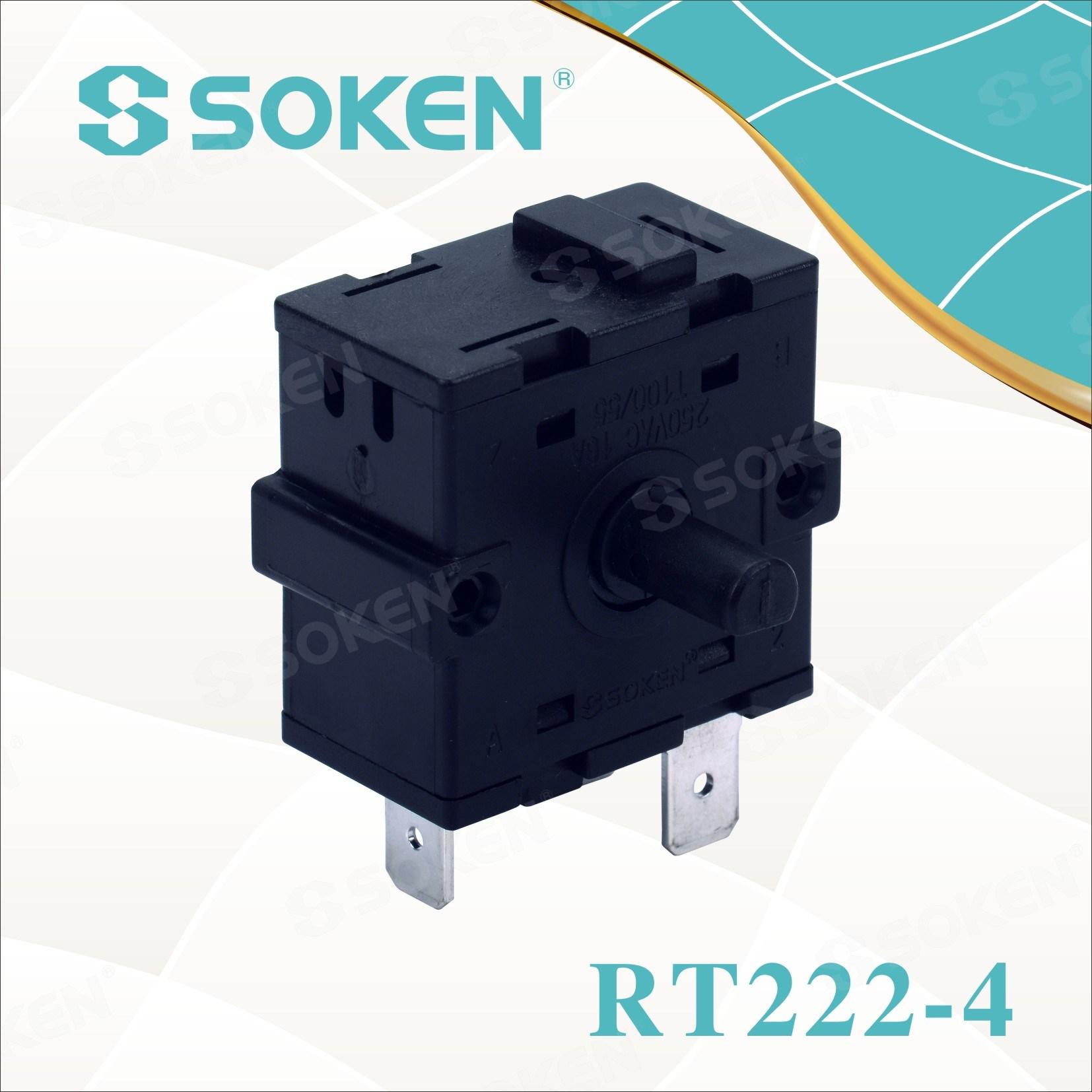 Soken 3 Positsioon Rotary Switch