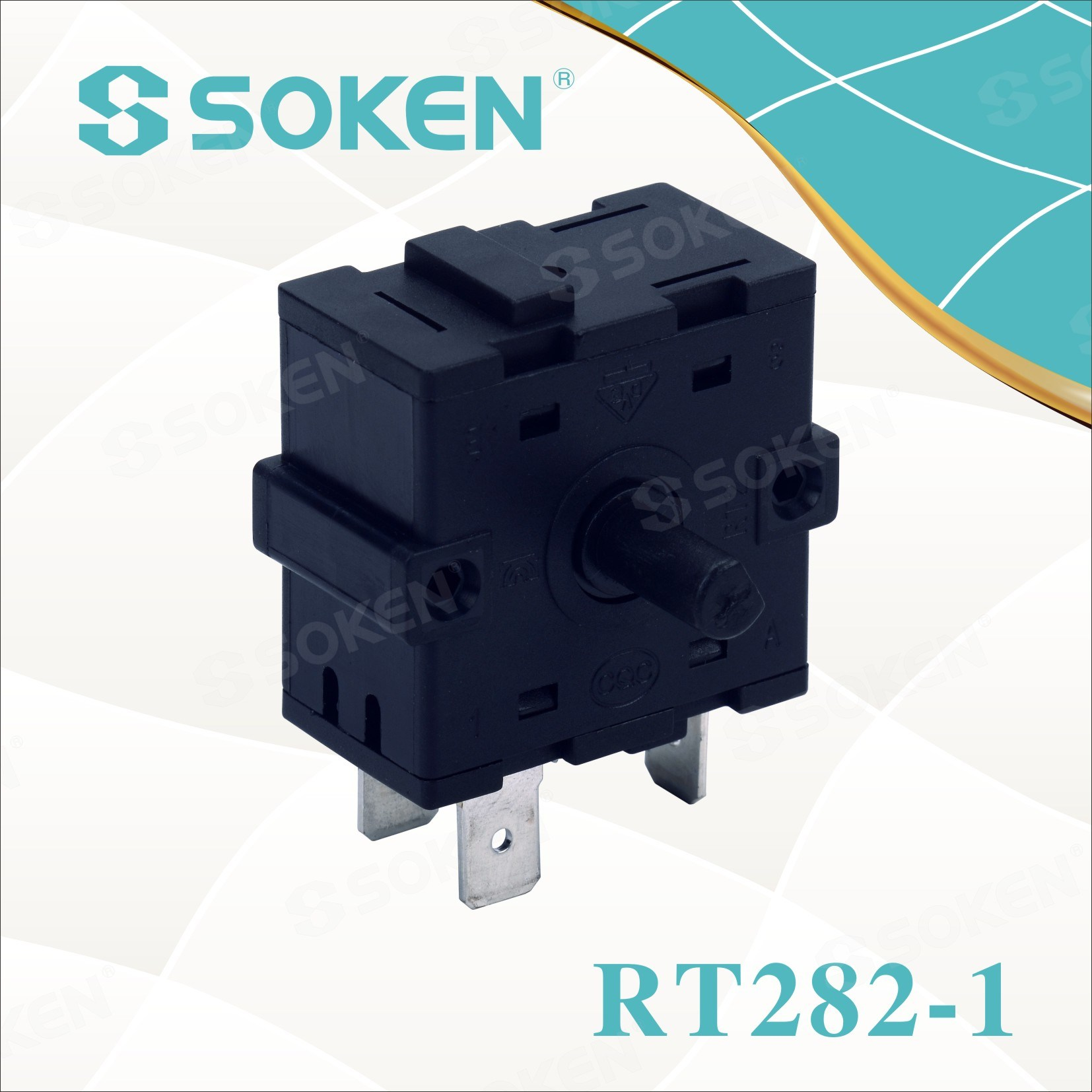 Soken 8 Position Cooker Rotary Switch