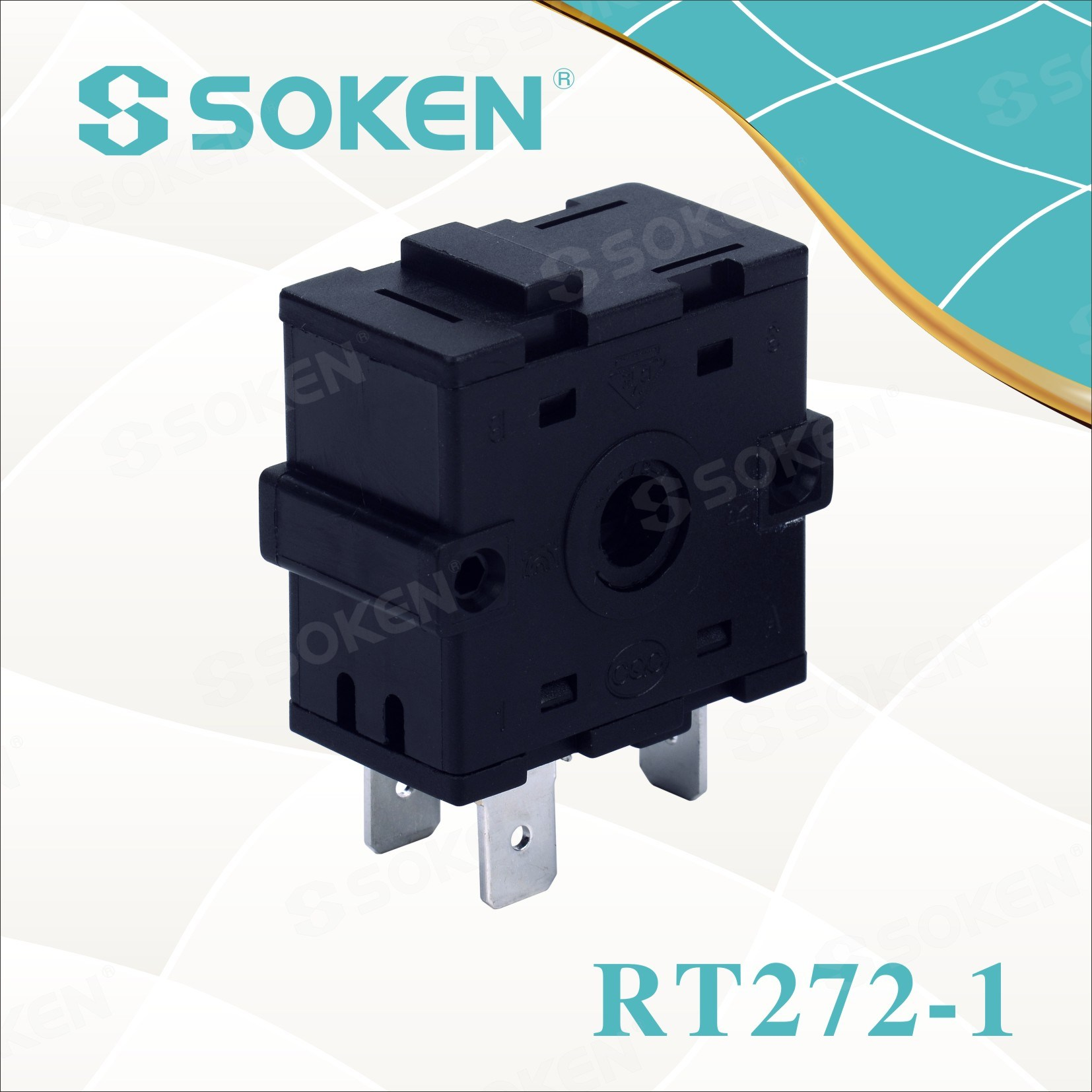 Soken 8 Position Rope Chain Rotary Switch