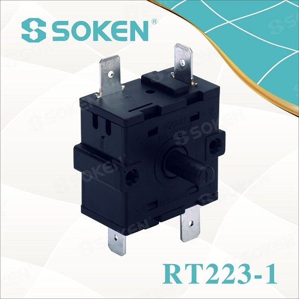 Soken Bremas 3 Phase Changeover Switch 16A 250V T100 Rt223-1