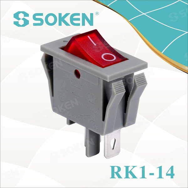 Soken Electrical Rocker Switch Sgòthan T85 16a 250VAC