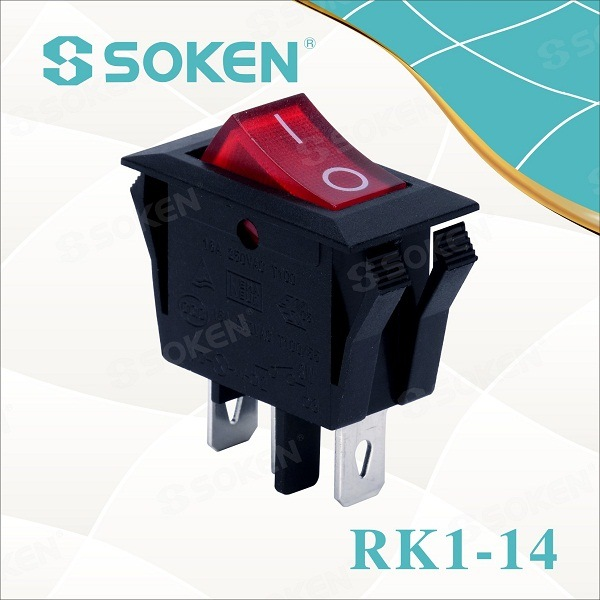 Soken Home Appliance 250VAC 16a an-davarangany eny Switch T85