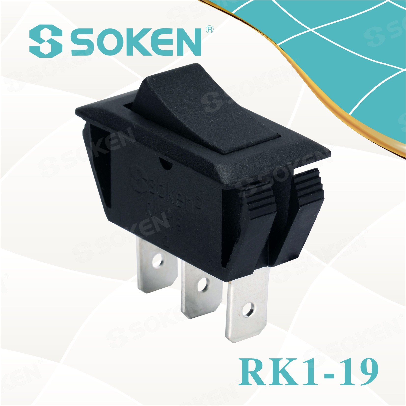 Soken Rk1-19 1X2 air air Rocker Switch