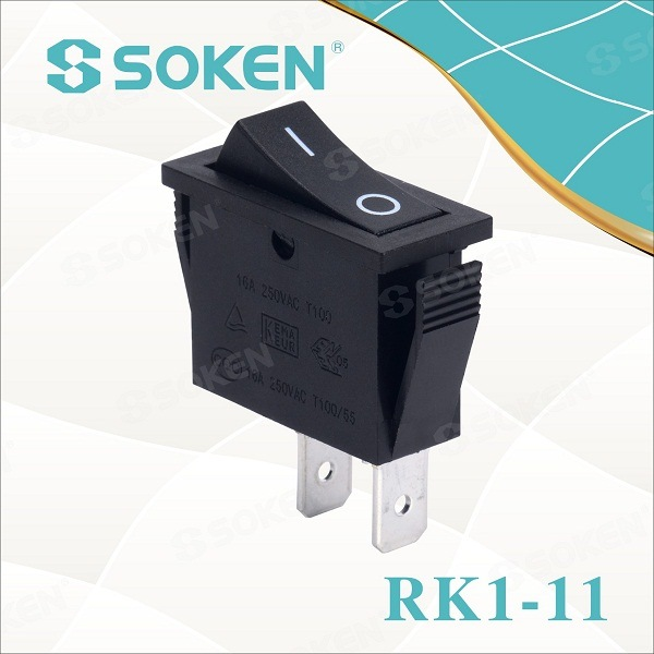 Soken RoHS UL Single Pole Rocker Switch T85/Defond Switches