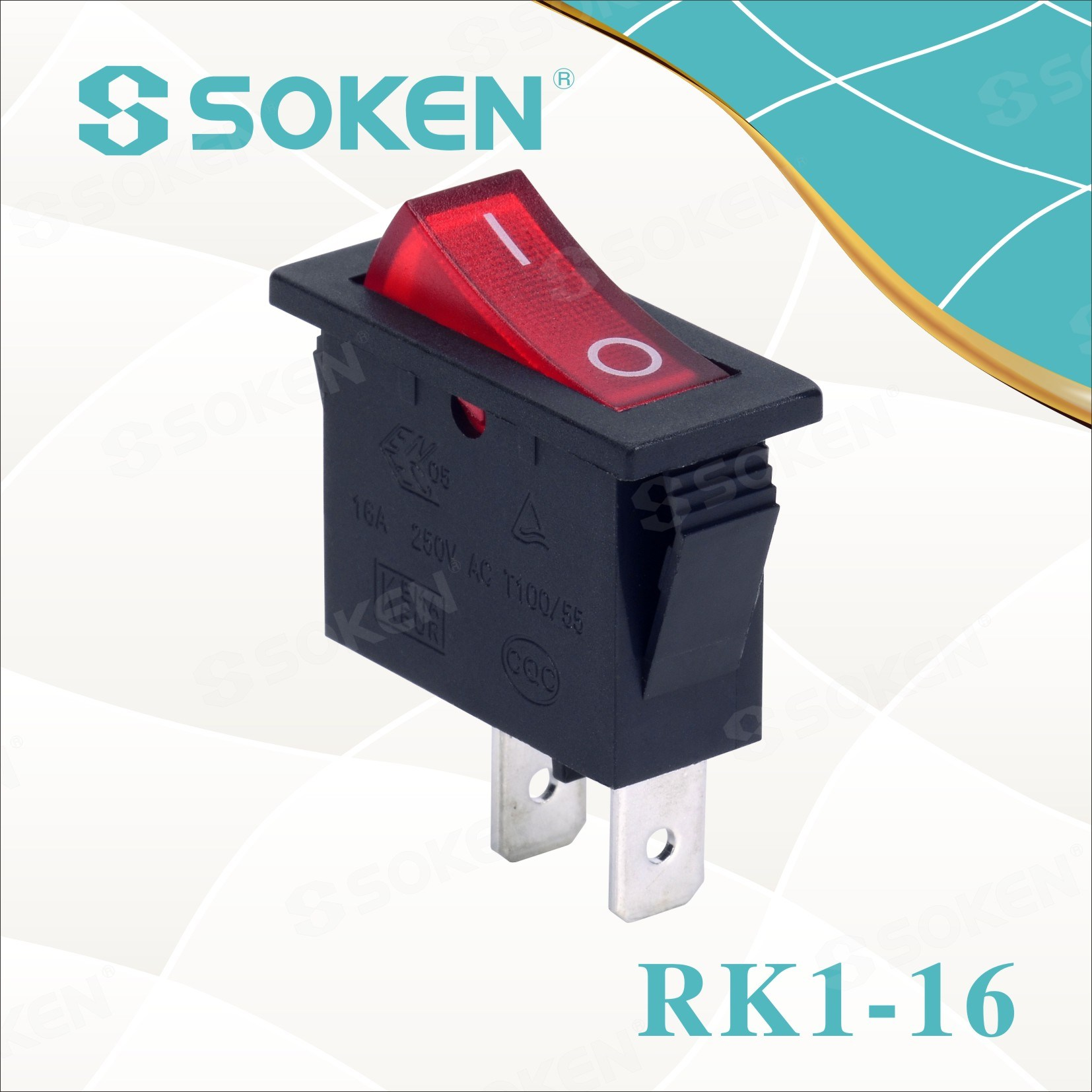 Soken Rocker Switch zonder Light