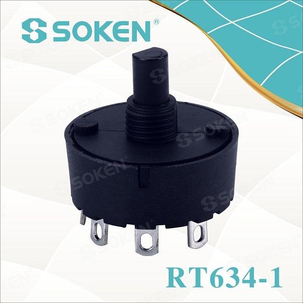 Soken Rotary Yipada 4 Ipo 6 (4) a T85 TUV