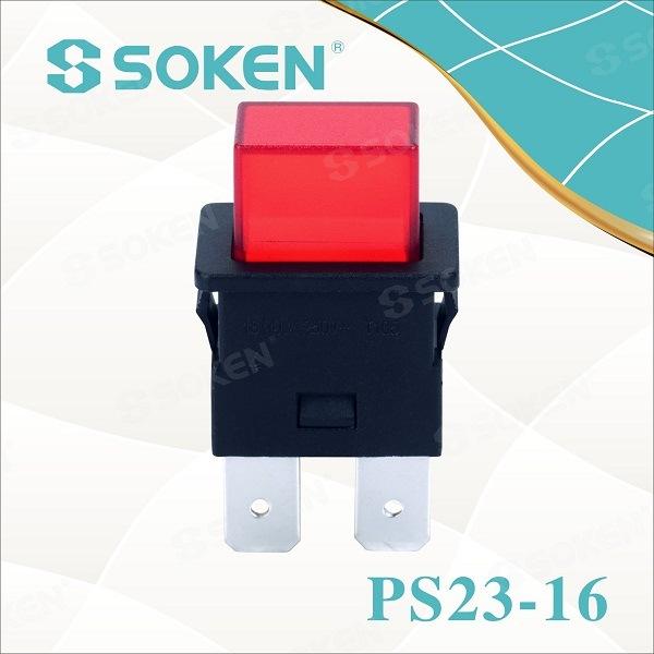 IOS Certificate Push Button Light Switches - Soken Spst Power Strip ...