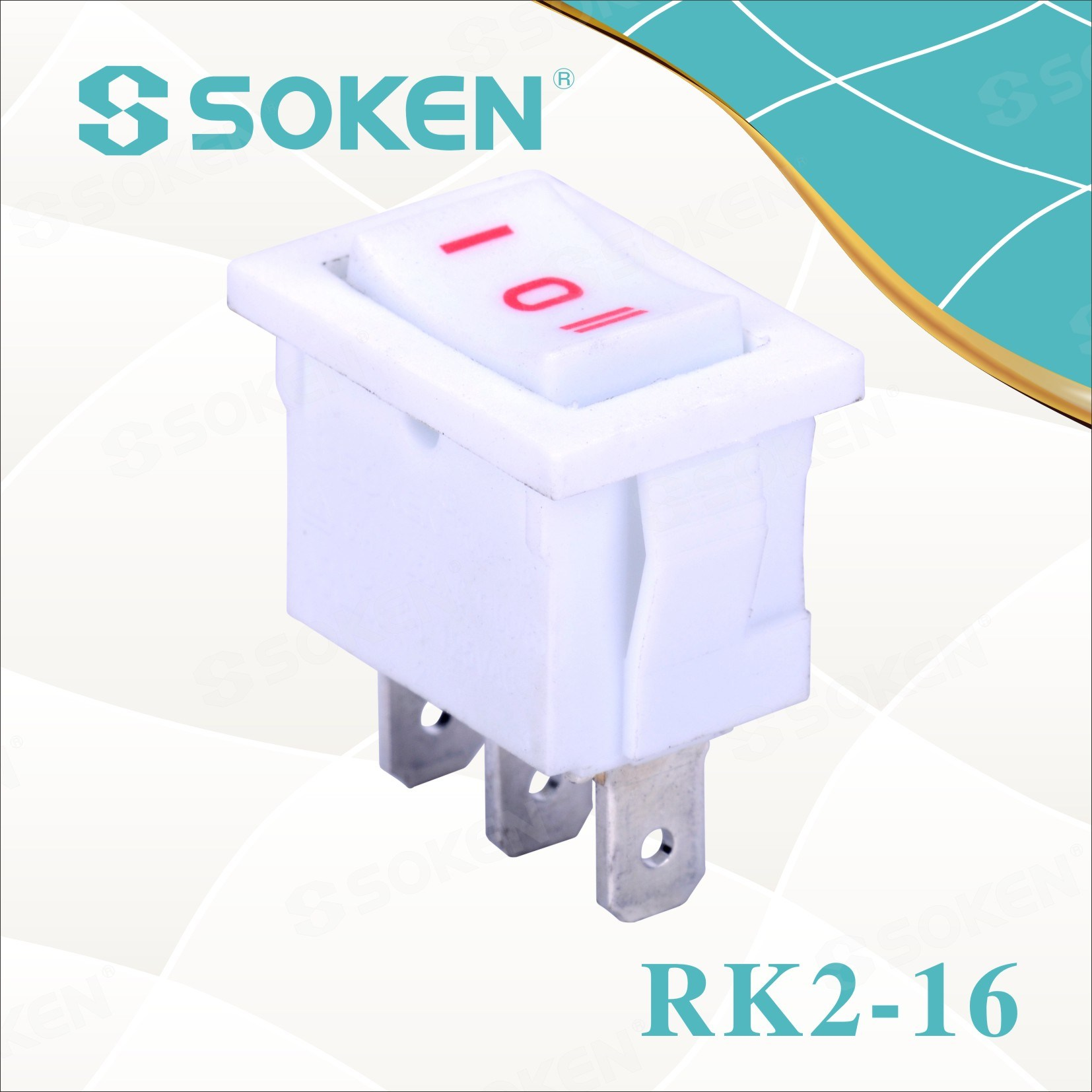 Sokne Rk2-16 1X3 on off on kango Pindah