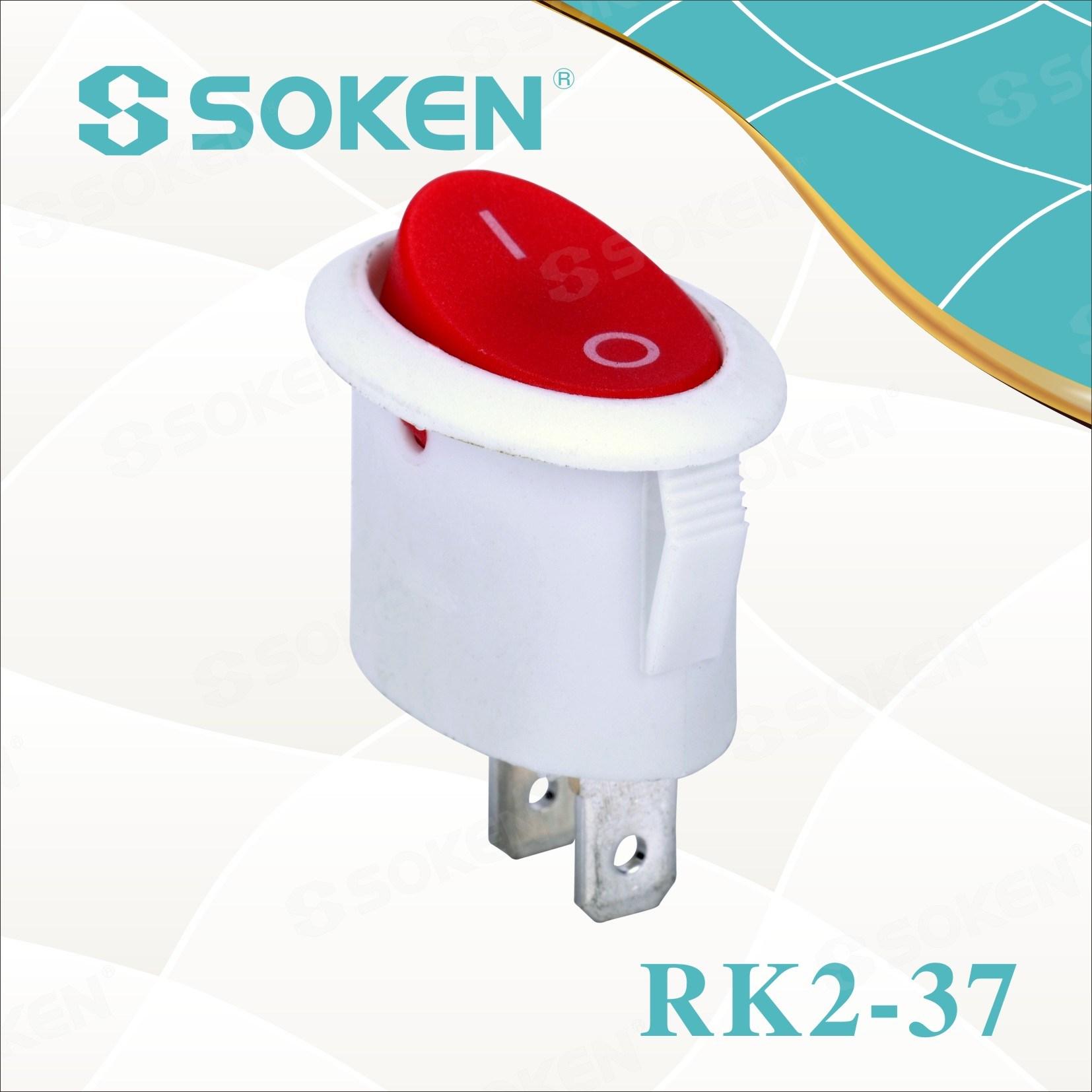 Soken Oval Rocker Switch